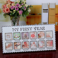 Baby 12 Month Photo Frame My First Year Photograph Display Home Tabletop Decor