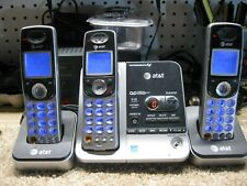 AT&T TL72308 5.8Ghz Digital Answering Machine and 3 handsets