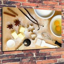 """Hornear Pastel Decoración Impreso Cuadro Lienzo A1.30""""x20"""" - 30 mm profundo Cafe"""