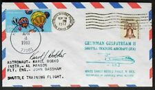 s451) Raumfahrt Space Shuttle STS-6 Challenger Houston 4.4.1983 Autograph Bobko