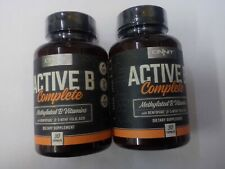 Onnit Active B Complete 30 capsules~ Lot of 2 Sealed Bottles
