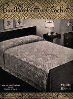 Bucilla #121 c.1938 - Bedspreads & Table Cloths Vintage Patterns for Home Decor