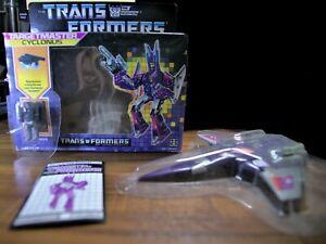 CYCLONUS TARGETMASTER & NIGHTSTICK Vintage G1 Transformers 1987 - VERY RARE