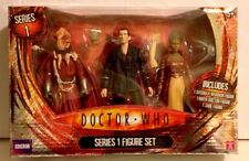 Doctor Who Action Figures  SYCORAX WARRIOR, NINTH DOCTOR and JABE From Sreies 1