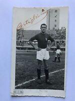 Autogramm EUSEBIO CASTIGLIANO (†1949)-AC Torino-NS ITALIEN-Turin-Absturz Superga