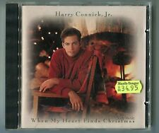 Harry Connick, Jr. CD - QUAND MY HEART FINDS CHRISTMAS 1993 Columbia Near mint