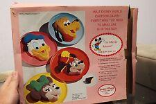 Vintage Wilton Walt Disney Mickey Mouse Cake Decorating Kit Pan With Box