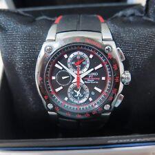 Seiko Sportura Honda F1 Racing Chronograph Sapphire Watch Quartz 7T62-0GR0 Red