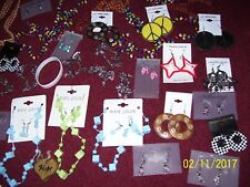 88 JEWELRY, NECKLACES, GLOVES, BRACELETS, BATMAN GLASSES, EARRINGS, HEADBANDS +