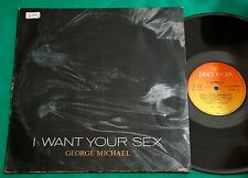 George Michael - I Want Your Sex BRAZIL PROMO EP 1987 CBS