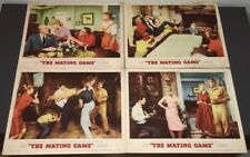 MATING GAME (1959) SEXY DEBBIE REYNOLDS CLASSIC COMEDY - (4) LOBBY CARDS - VF!