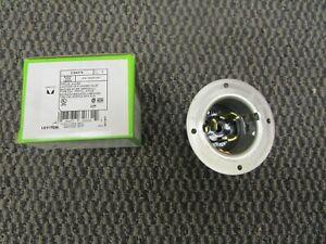 LEVITON CS6375 3 pole 4 wire Locking CS Flanged Inlet