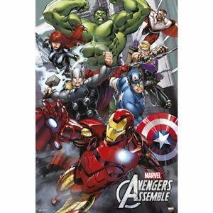 The Avengers Poster Marvel Comics 61 x 91,5 cm Dekoration Plakat Wanddeko Deko