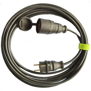 Verlängerung Kabel 3x1,5mm² 3G1,5 3M 5M 10M 20M