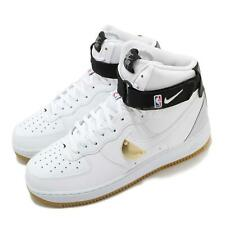 Nike Air Force 1 High 07 LV8 NBA White Gold Black Gum Men Shoes AF1 CT2306-100