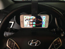 CELL BUCKLE CLAMP-HOLDER FOR YOUR PHONE,GPS,MP3, CLAMPS ONTO STEERING WHEEL CB-1