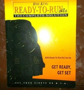 Rail King Ready-to-Run sets the complete solution 2000 Ready-to-run set line up