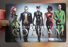 GOTHAM Lenticular Card & Lanyard SDCC 2014 San Diego Comic Con Fox TV Promo
