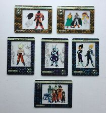 Dragonball Z DBZ Filmcardz Film Cards Rare Chase Set of 6: R1 - R6
