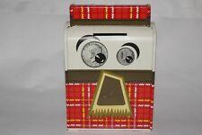 1960's Ohio Art Mr Thrifty Metal Bank, Nice Original