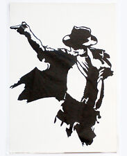 Michael Jackson Paper Cutting Art Holiday Gift Christmas Gift- Handmade in NYC