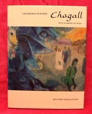 Chagall - Les grands peintres - Werner Haftmann - Livre grand format - Occasion