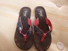 Animal summer shoes Wedge heel Size 4