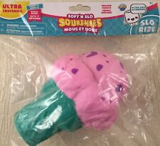 Soft N Slo Squishies Ultra Sweet Shop Candy Ice Cream Cone Squishy Blue Cone