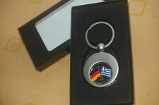Deutschland Griechenland Schlüsselanhänger Einkaufswagenchip  Geschenkbox