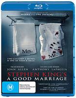 Stephen King's A Good Marriage (Blu-ray) NEW/SEALED [Region B]