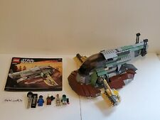 OOP Lego 6209 Star Wars Slave I - 100% complete with minifigs & instructions NM
