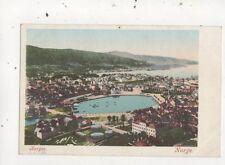 Bergen Norway Vintage U/B Postcard 914a