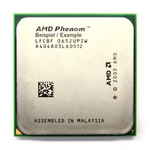 Amd Phenom X4 9950 2.6GHz/2MB Socket/Socket AM2 +HD995ZXAJ4BGH Black Edition CPU