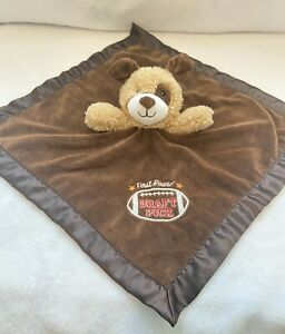 Baby Starters Brown Dog Lovey Security Blanket Rattle FIRST ROUND DRAFT PICK