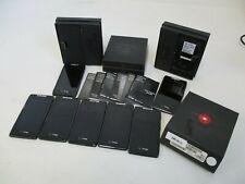 Motorola Droid Razr (Xt-912) 8Gb /16Gb -Black (Verizon) Smartphone Only Lot of 7