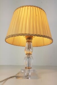 Small Lamp Art Deco Glass