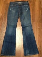 Citizens of Humanity Nic Nac #109 LOw Waist Flare Jeans Sz 27 Inseam 34.5""