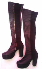 Unbranded Clubwear 100% Leather Boots for Women
