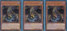 Yu-Gi-Oh! 3x Dragon Arc-En-Ciel des Ténèbres BLRR-FR054 1ère Ed Ultra Rare NEUF