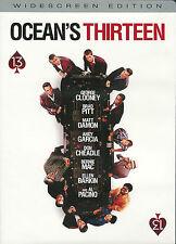 Ocean's Thirteen ~ George Clooney Al Pacino Bernie Mac Brad Pitt New Sealed DVD