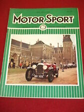 MOTORSPORT - APRIL 1964 VOL XL # 4