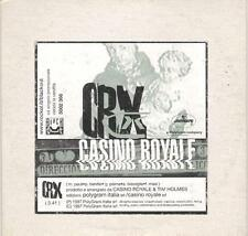 "CASINO ROYALE - RARO CDs PROMO "" CRX """