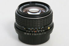 50mm f1.4 Pentax - M SMC  Lens P  K-Mount