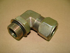 """NEW Parker 16 C5BU-S 1"""" SAE - ORB 90 Degree Connector Compression Tube Fitting"""