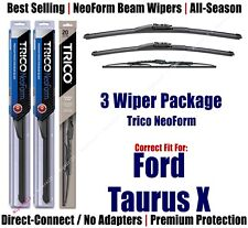 Front Windshield Frameless Wiper Blades for 2008-2009 Ford Taurus X J Hook 24+20