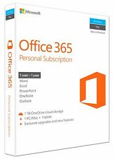 Microsoft Office 365 Personal, 1 year, ESD (English) (1x PC/MAC + 1x Tablet)