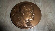 médaille / pièce  bronze JEAN PAUL II 2 - Belmondo - TBE