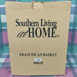 Southern Living At Home - Franciscan Wall Basket Bucket. - Includes Box - Great