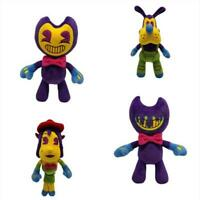 4pcs lot Bendy and the ink machine Plush Soft Toys Cute Doll Cuddly Kids Gift