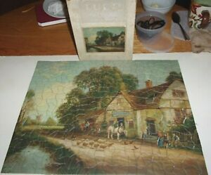 Vintage Jigsaw Puzzle Tuco DeLuxeOld George Inn300+16x20Complete